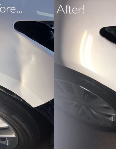 Before and After Dent Repairs