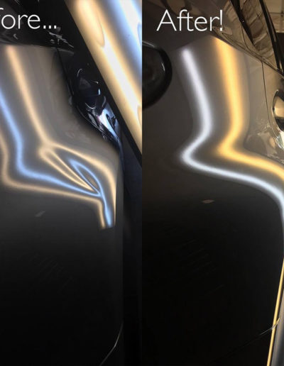 Before and After Vehicle Repair